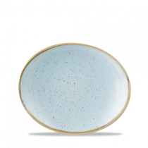 Churchill Stonecast Duck Egg Oval Plate Duck 19.2cm