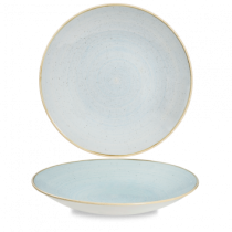 Churchill Stonecast Duck Egg Deep Coupe Plate 28.1cm
