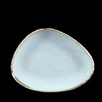 Churchill Stonecast Duck Egg Triangle Plate 26.5 x 20.5cm