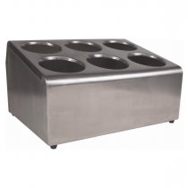 Cutlery Cylinder Holder Stainless Steel