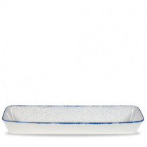 Churchill Stonecast Hints Indigo Blue Rectangular Baking Dish 53 x 16 x 6.2cm