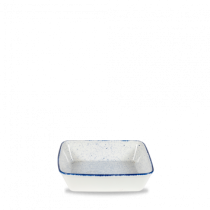 Churchill Stonecast Hints Indigo Blue Square Baking Dish 25 x 25 x 6.2cm