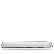Churchill Stonecast Hints Indigo Blue 2/4 Flat Tray 53 x 15 x 2.5cm