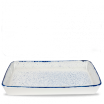 Churchill Stonecast Hints Indigo Blue Rectangular Baking Dish 53 x 32.5 x 6.2cm