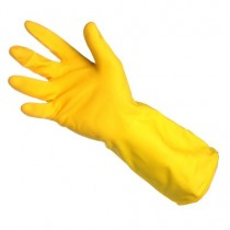 Household Rubber Gloves Yellow
