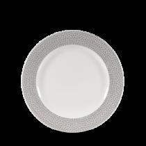 Churchill Isla Shale Grey Plate 17cm