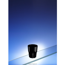 Black Plastic Polycarbonate Shot Glass 50ml