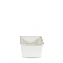 Churchill Stonecast Hints Small Casserole Dish Barley White 18 x 19.4 x 11.5cm