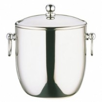 Elia Curved Double Wall Ice Bucket Stainless Steel 4.5Ltr