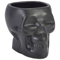 Cast Iron Effect Tiki Skull Mugs 80cl / 28.15oz