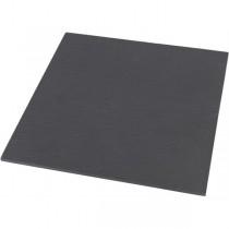 Genware Straight Edge Slate Platter 10 x 10cm