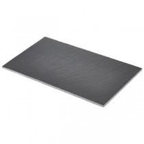 Genware Straight Edge Slate Platter GN 1/4