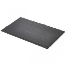 Genware Natural Edge Slate Platter GN 1/4