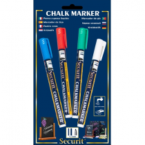 Liquid Chalk Markers 4 Colours Small