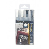 Liquid Chalk Markers Waterproof 2 Colour Medium
