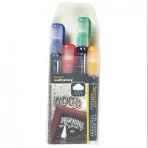 Liquid Chalk Markers Waterproof 4 Colours Medium