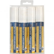Liquid Chalk Markers White Large