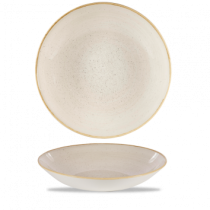 Churchill Stonecast Nutmeg Cream Coupe Bowl 31cm