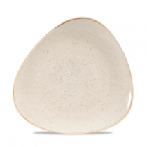 Churchill Stonecast Nutmeg Cream Triangle Plate 26.5cm