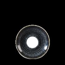 Churchill Studio Prints Homespun Saucer Charcoal Black 11.8cm