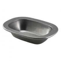 Vintage Steel Pie Dish 18 x 13.5 x 4cm