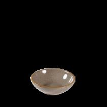 Churchill Stonecast Peppercorn Grey Shallow Bowl 11.6cm