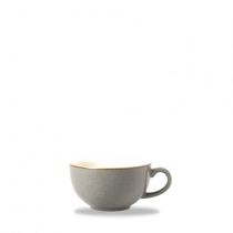 Churchill Stonecast Peppercorn Grey Cappuccino Cup 28cl 10oz