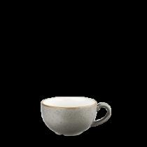 Churchill Stonecast Peppercorn Grey Cappuccino Cup 8oz