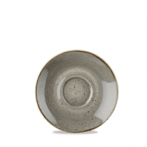Churchill Stonecast Peppercorn Grey Saucer 15.6cm