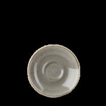 Churchill Stonecast Peppercorn Grey Espresso Saucer 11.8cm