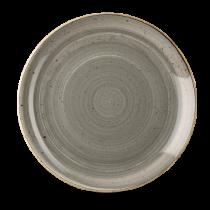 Churchill Stonecast Peppercorn Grey Coupe Plate 28.8cm
