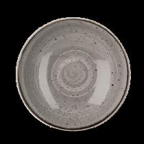 Churchill Stonecast Peppercorn Grey Coupe Bowl 24.8cm