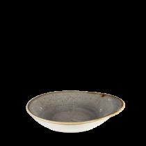 Churchill Stonecast Peppercorn Grey Round Dish 18.5 x 16.8cm