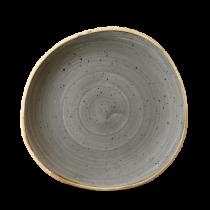 Churchill Stonecast Peppercorn Grey Organic Round Plate 21cm