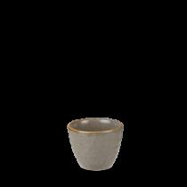 Churchill Stonecast Peppercorn Grey Ripple Dip Pot 2oz