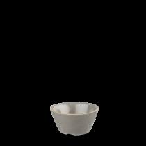 Churchill Stonecast Peppercorn Grey Sauce Dish 9cl