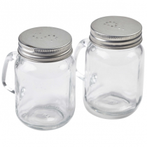 Mason Jar Salt & Pepper Set 12cl