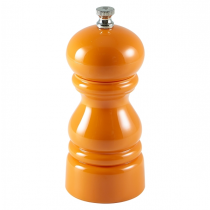 Salt & Pepper Grinder Acrylic Orange 12.7cm