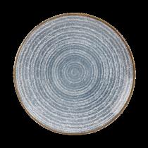 Churchill Studio Prints Homespun Coupe Plate Slate Blue 26cm