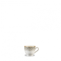 Churchill Studio Prints Homespun Espresso Cup Stone Grey 10cl