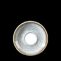 Churchill Studio Prints Homespun Saucer Stone Grey 15.6cm