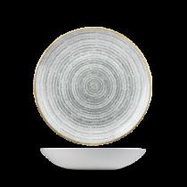 Churchill Studio Prints Homespun Coupe Bowl Stone Grey 18.2cm