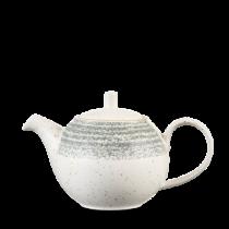 Churchill Studio Prints Homespun Tea Pot Stone Grey 42.6cl