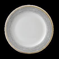 Churchill Studio Prints Homespun Rimmed Plate Stone Grey 26.1cm