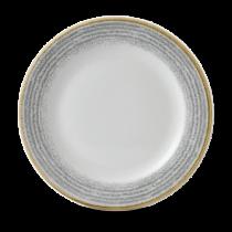 Churchill Studio Prints Homespun Rimmed Plate Stone Grey 27.6cm