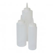 Squeeze Bottle Clear 12oz / 35cl