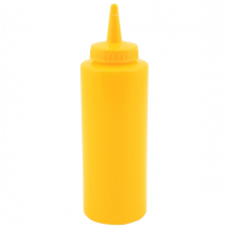 Squeeze Sauce Bottle Yellow 12oz