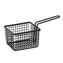 Square Black Wire Basket 23 x 10 x 7.5(H)