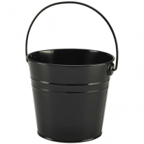 Stainless Steel Serving Bucket Black 16cm