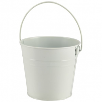 Stainless Steel Serving Bucket White 16cm